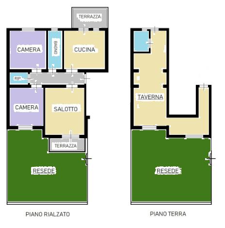 Appartamento in vendita, rif. F/0403 (Planimetria 1/1)