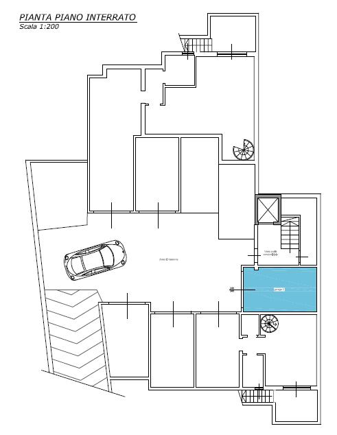 Attico in vendita, rif. F/0405 (Planimetria 3/3)