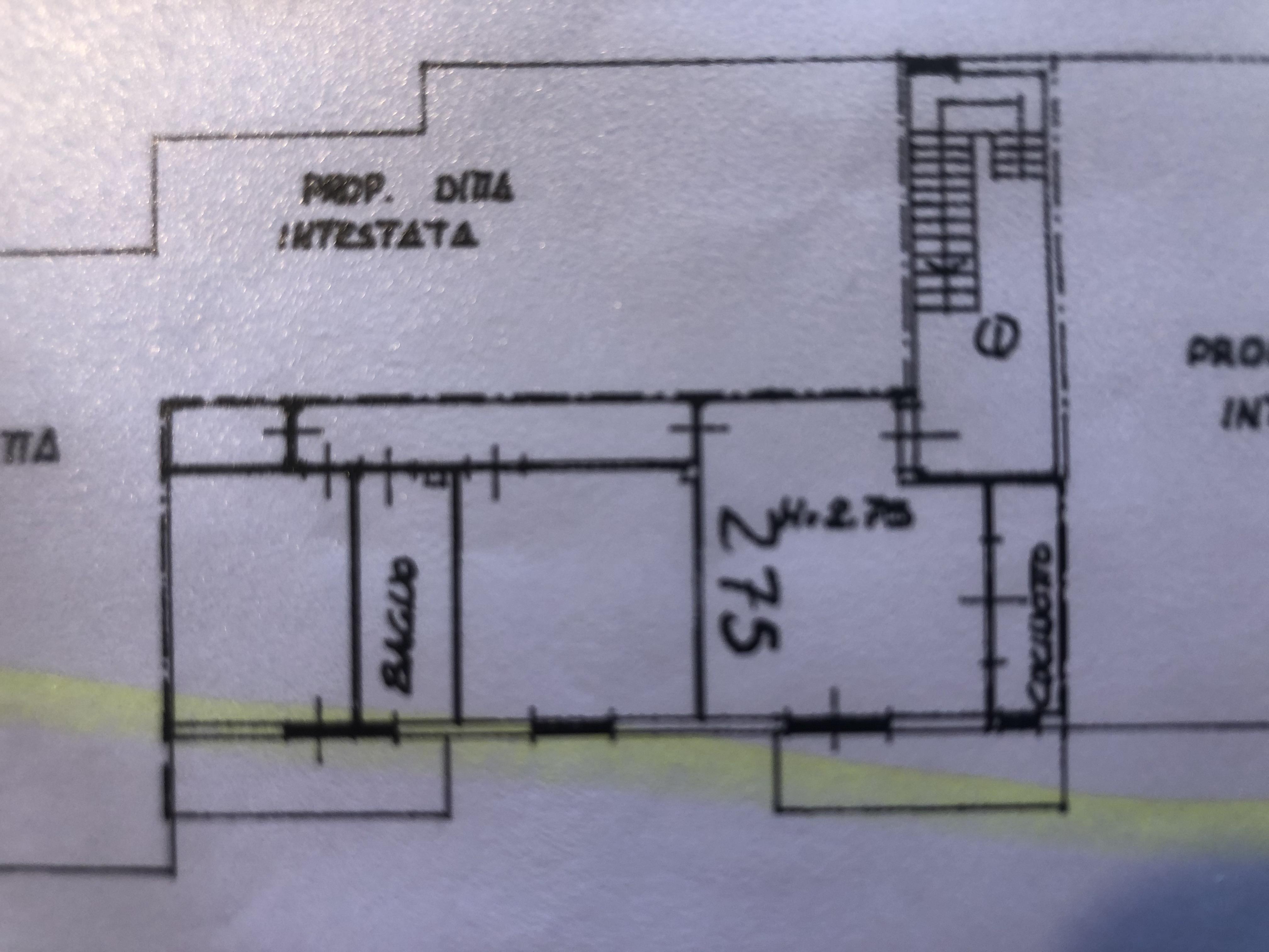 Appartamento in vendita, rif. F/0407 (Planimetria 1/2)