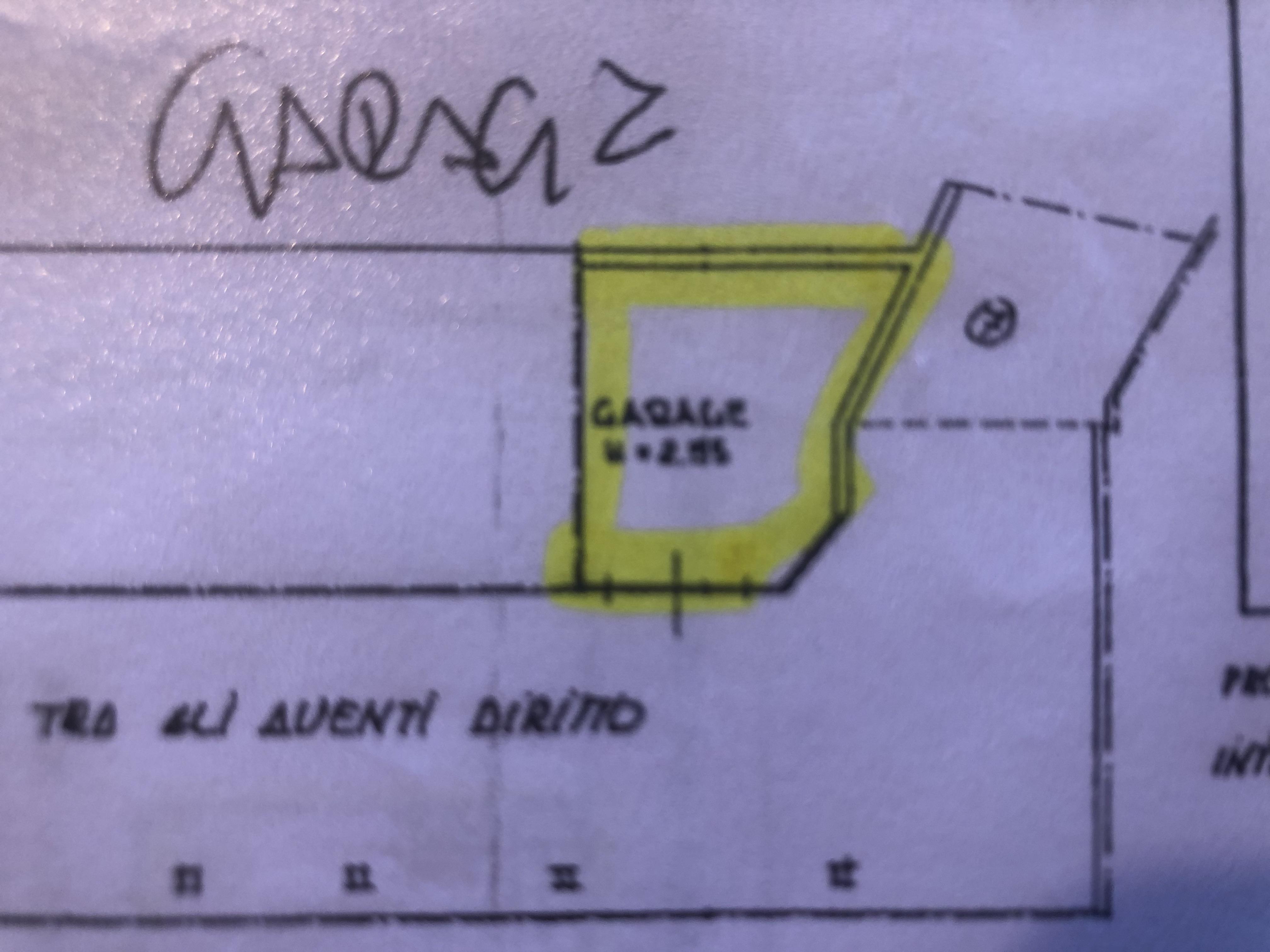 Appartamento in vendita, rif. F/0407 (Planimetria 2/2)