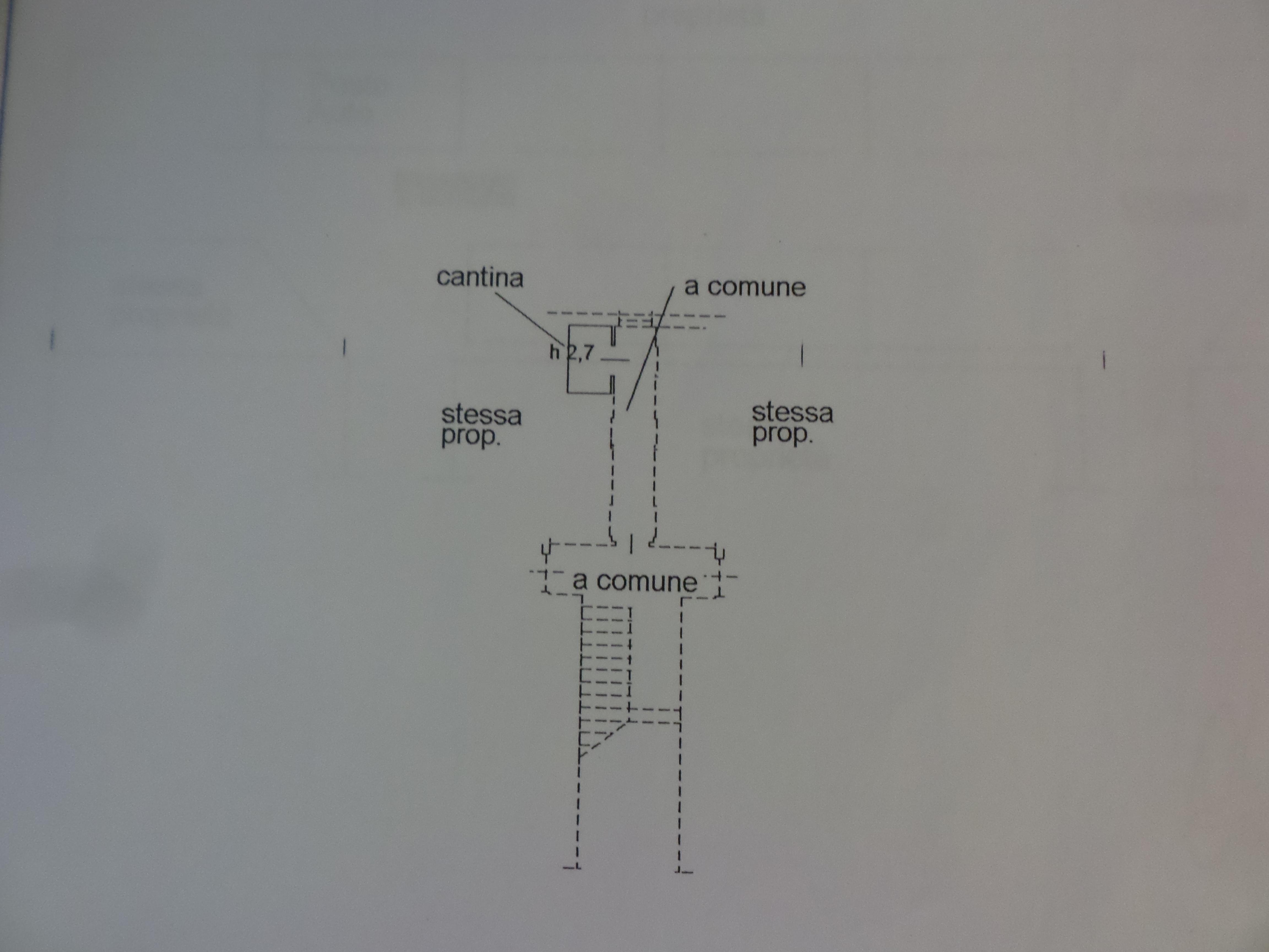 Appartamento in vendita, rif. P/0180 (Planimetria 2/2)
