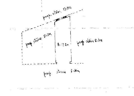 Planimetria 2/2 per rif. M/0314