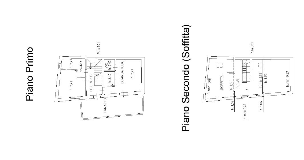 Planimetria 2/4 per rif. F/0409