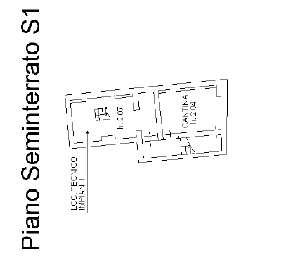 Planimetria 3/4 per rif. F/0409