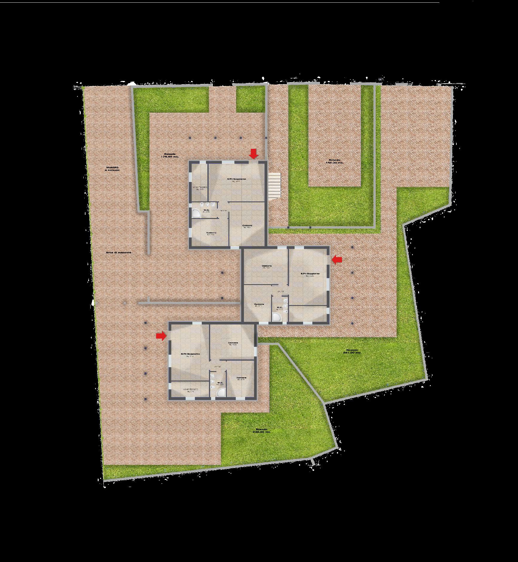 Planimetria 3/5 per rif. F/0410