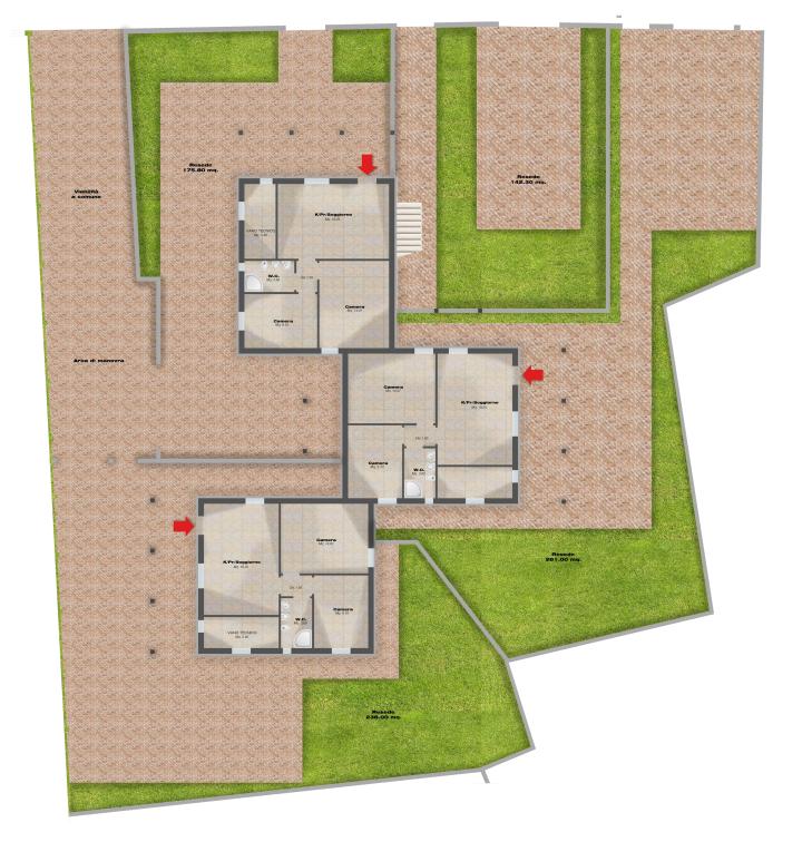 Planimetria 2/5 per rif. F/0410