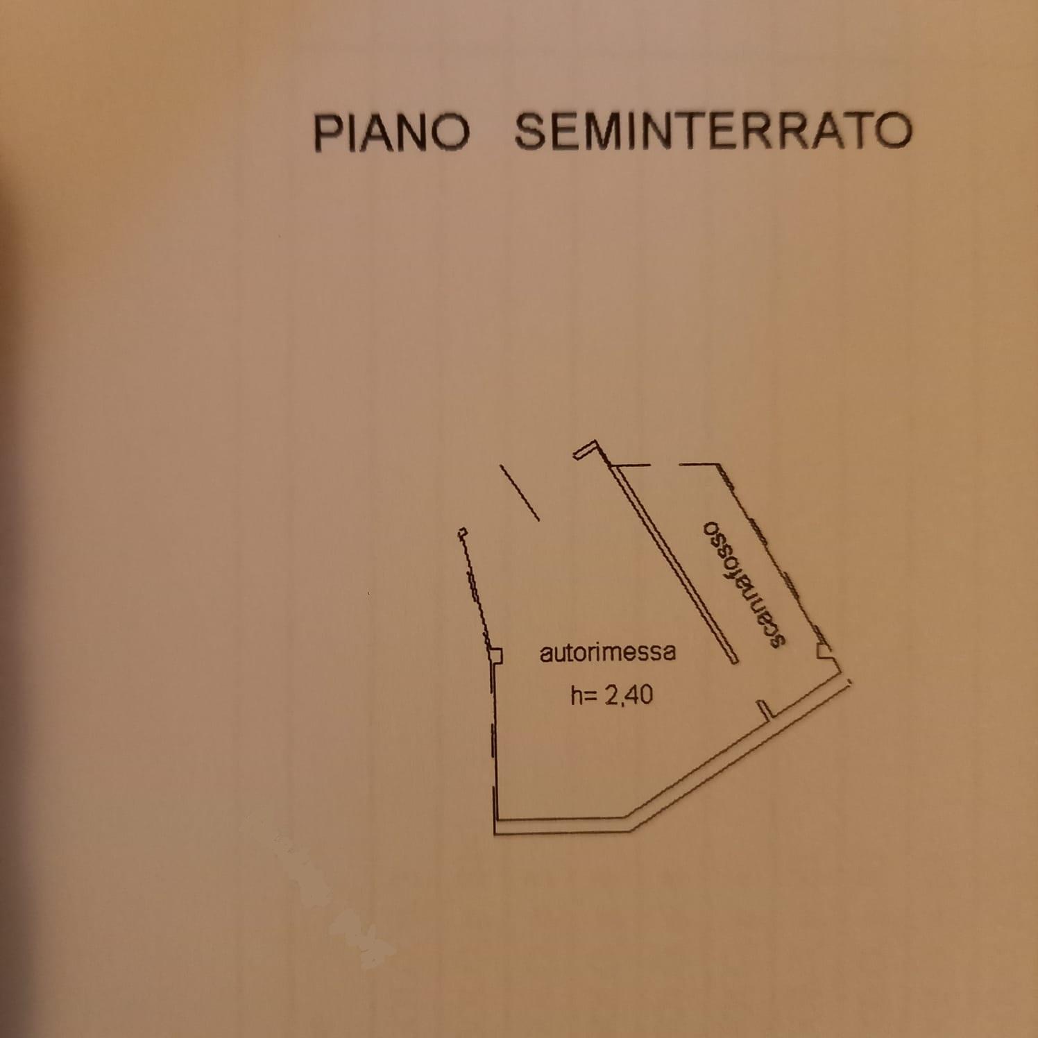 Appartamento in vendita, rif. M/0317 (Planimetria 2/2)