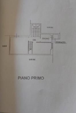 Terratetto in vendita, rif. P/0183 (Planimetria 2/3)