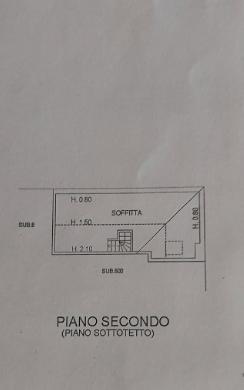 Terratetto in vendita, rif. P/0183 (Planimetria 3/3)