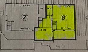 Appartamento in vendita, rif. F/0415 (Planimetria 2/2)