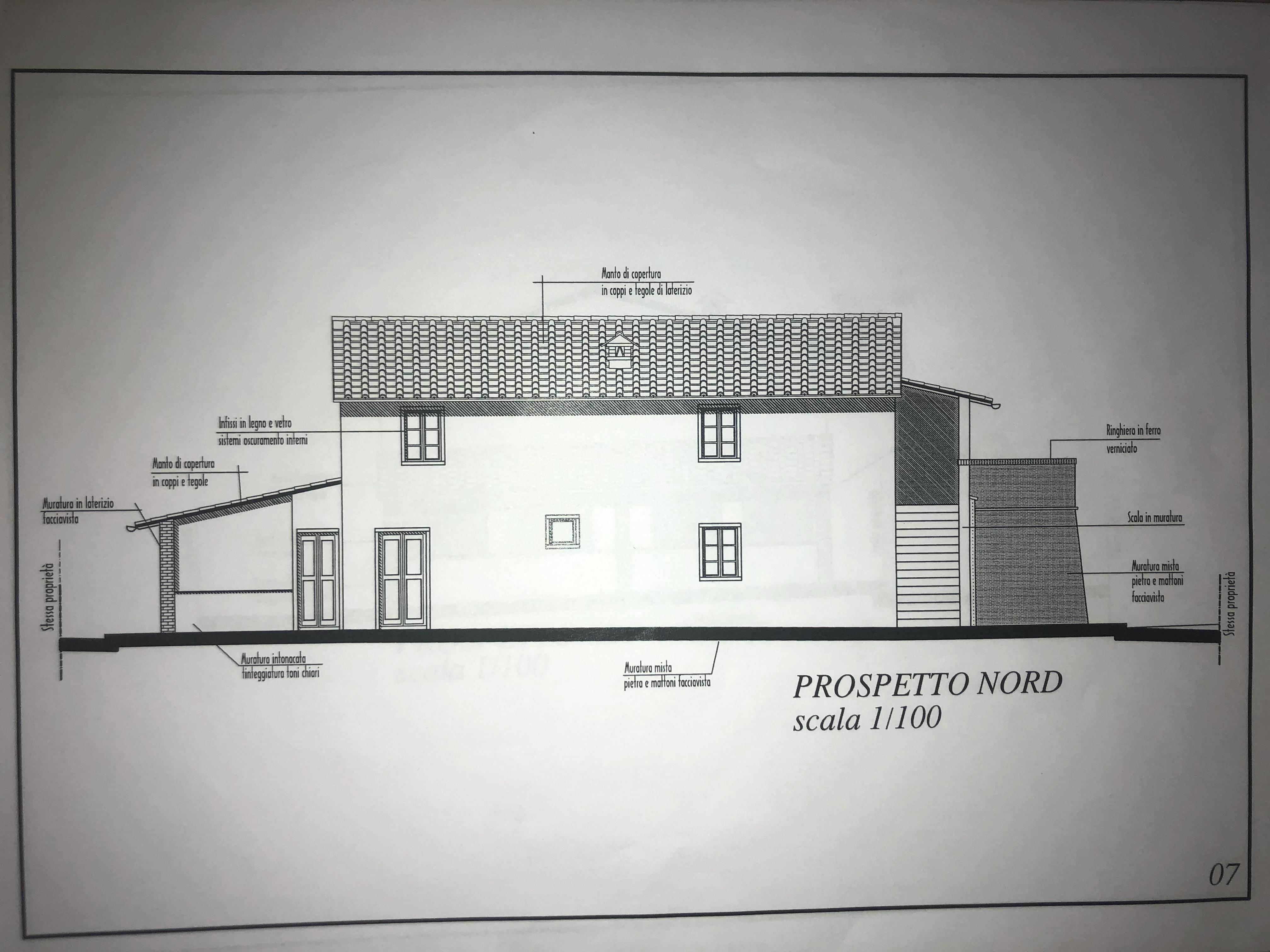 Edificio storico in vendita, rif. F/0416 (Planimetria 4/9)
