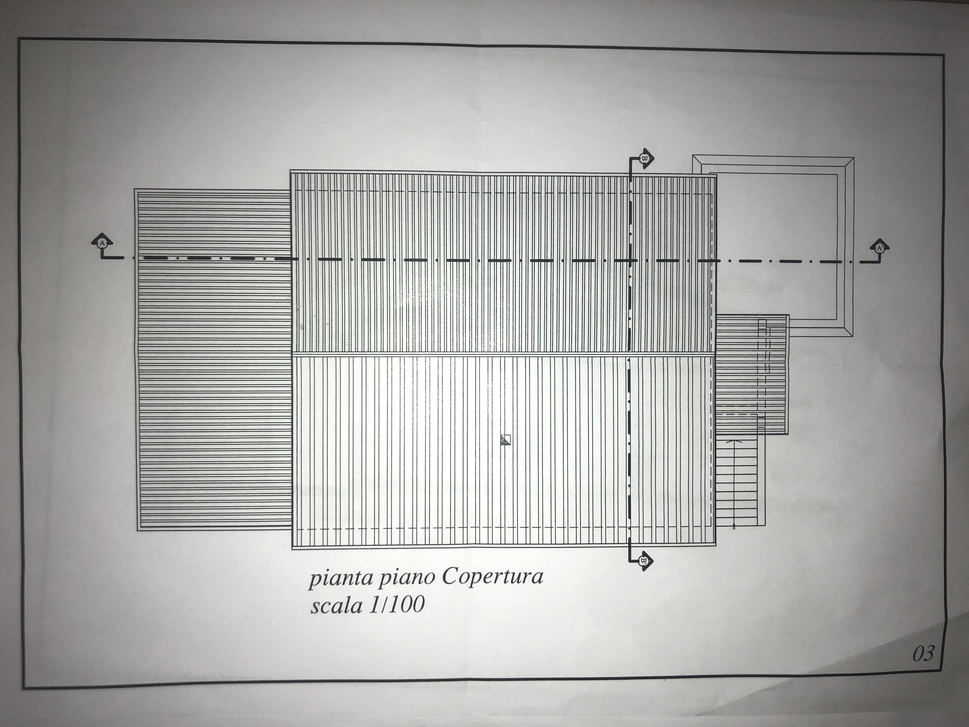 Edificio storico in vendita, rif. F/0416 (Planimetria 7/9)