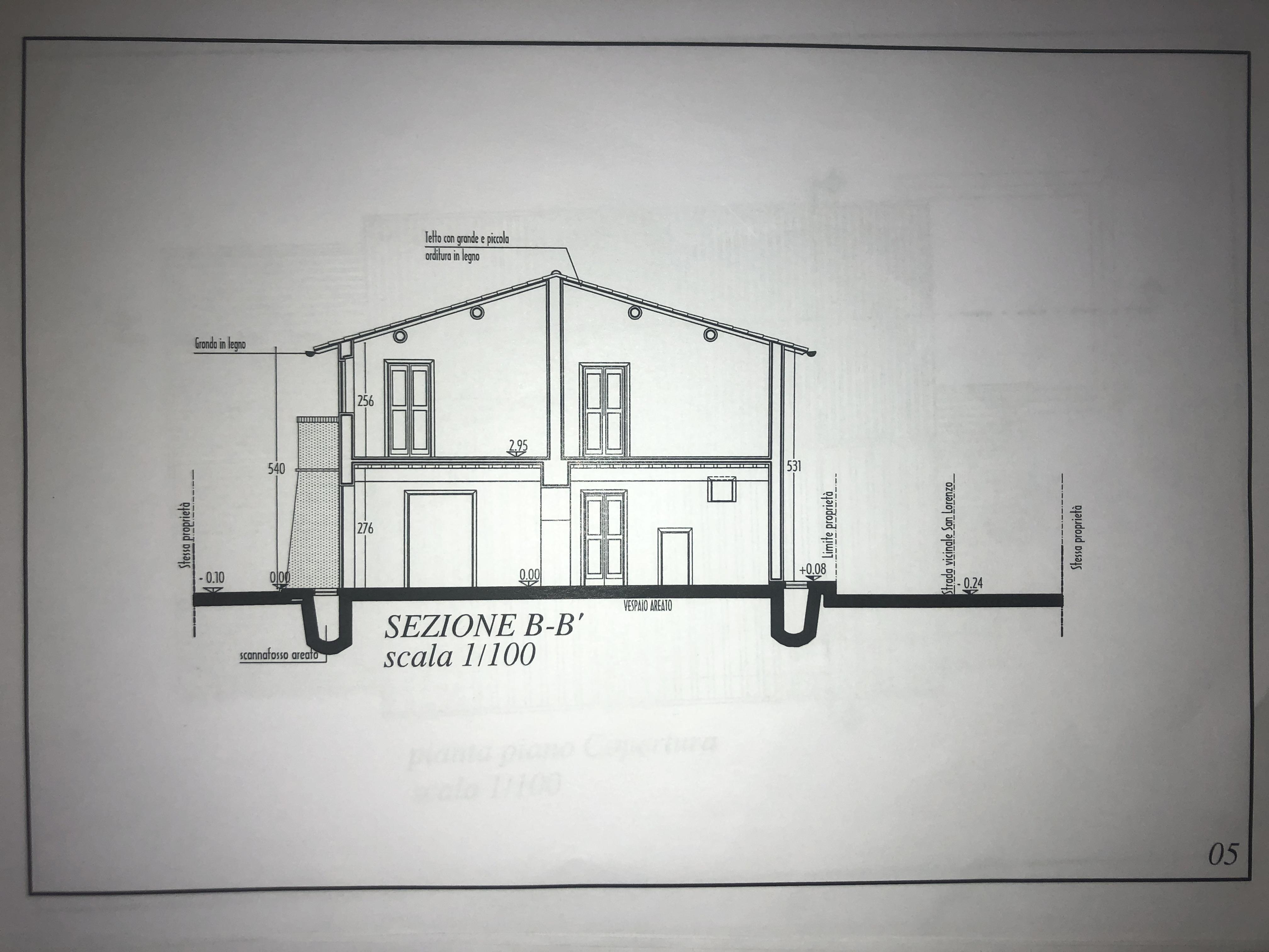 Edificio storico in vendita, rif. F/0416 (Planimetria 8/9)