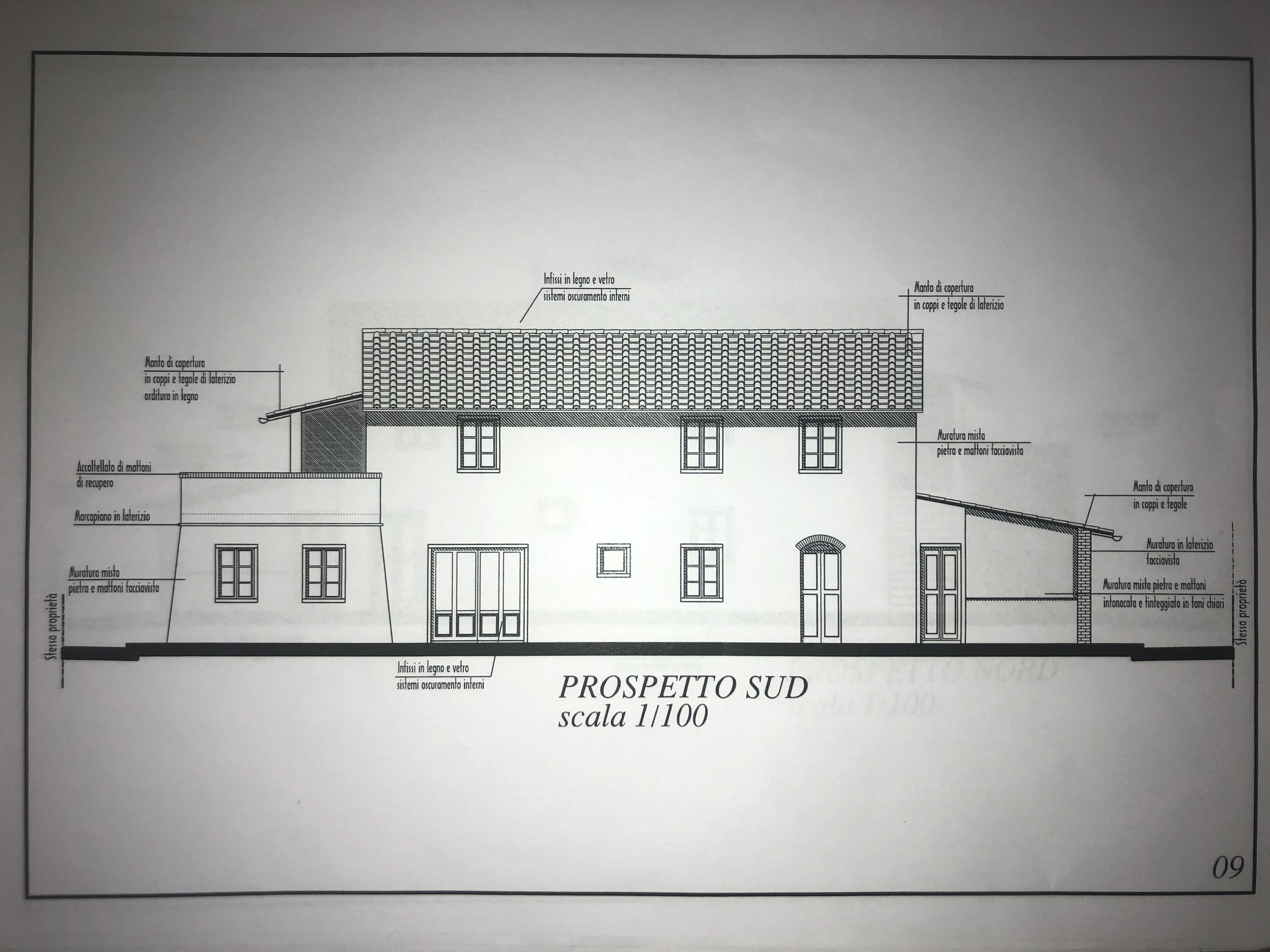 Edificio storico in vendita, rif. F/0416 (Planimetria 5/9)