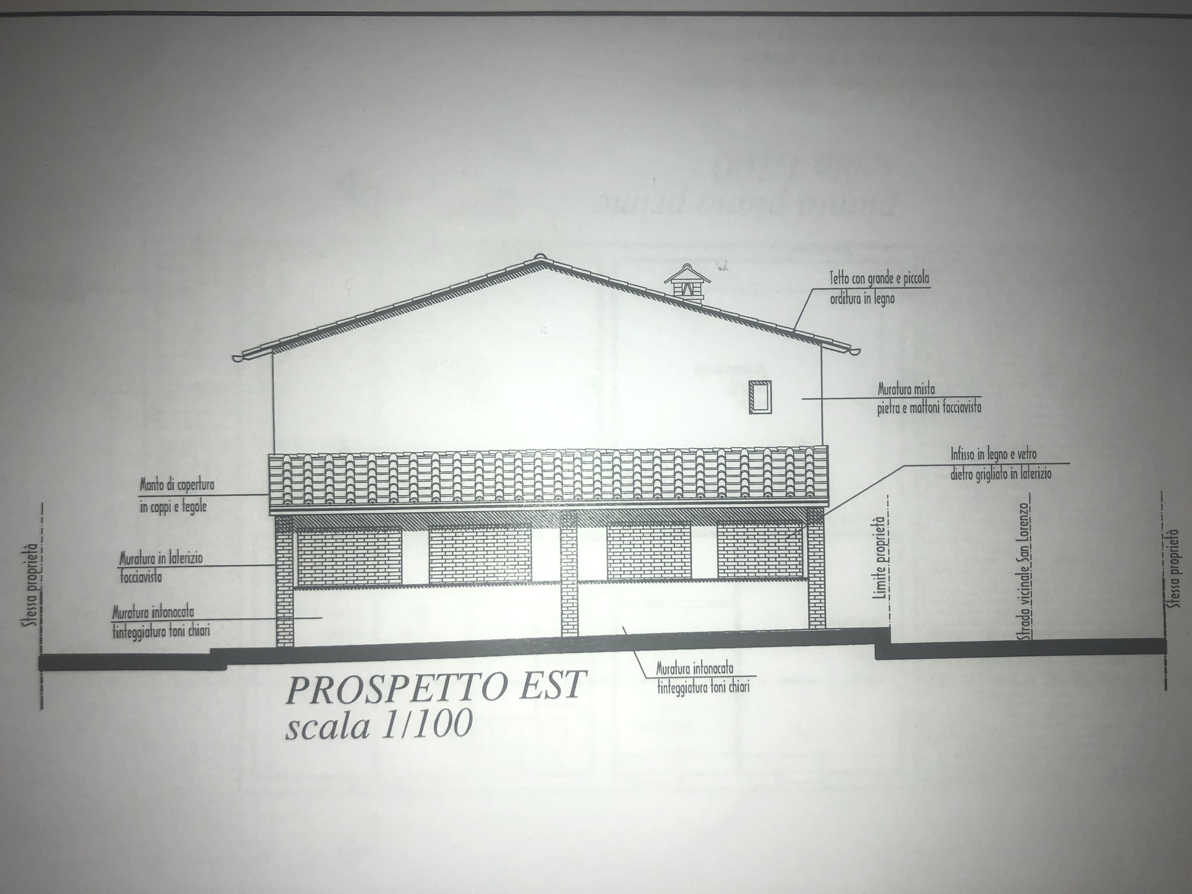 Edificio storico in vendita, rif. F/0416 (Planimetria 3/9)