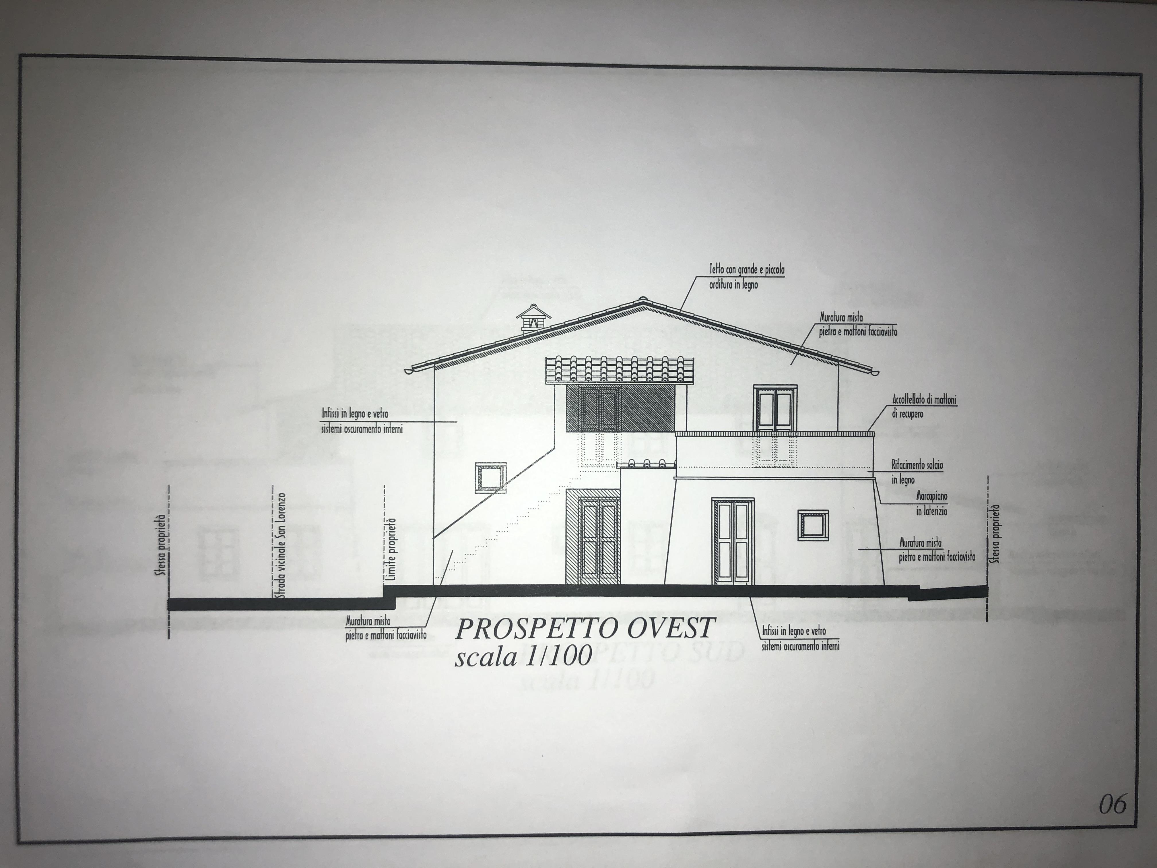 Edificio storico in vendita, rif. F/0416 (Planimetria 6/9)
