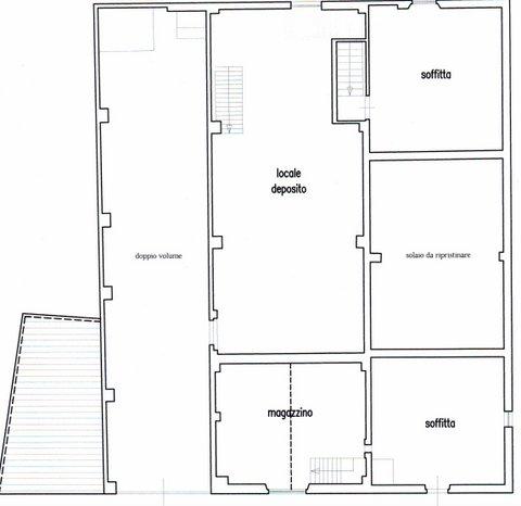Rustico in vendita, rif. F/0418 (Planimetria 2/3)