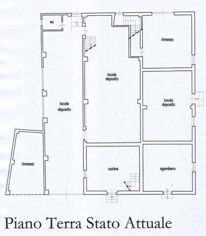 Rustico in vendita, rif. F/0418 (Planimetria 1/3)