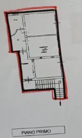 Appartamento in vendita, rif. P/0185 (Planimetria 2/2)