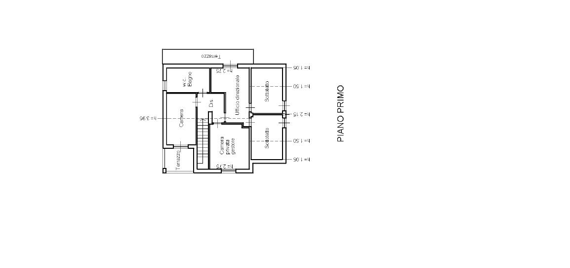 Villa singola in vendita, rif. F/0420 (Planimetria 2/3)