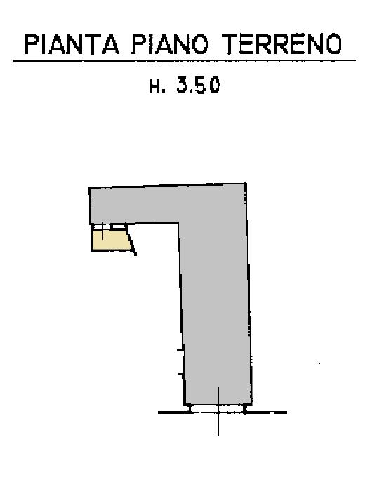 Casa semindipendente in vendita, rif. F/0421 (Planimetria 2/2)