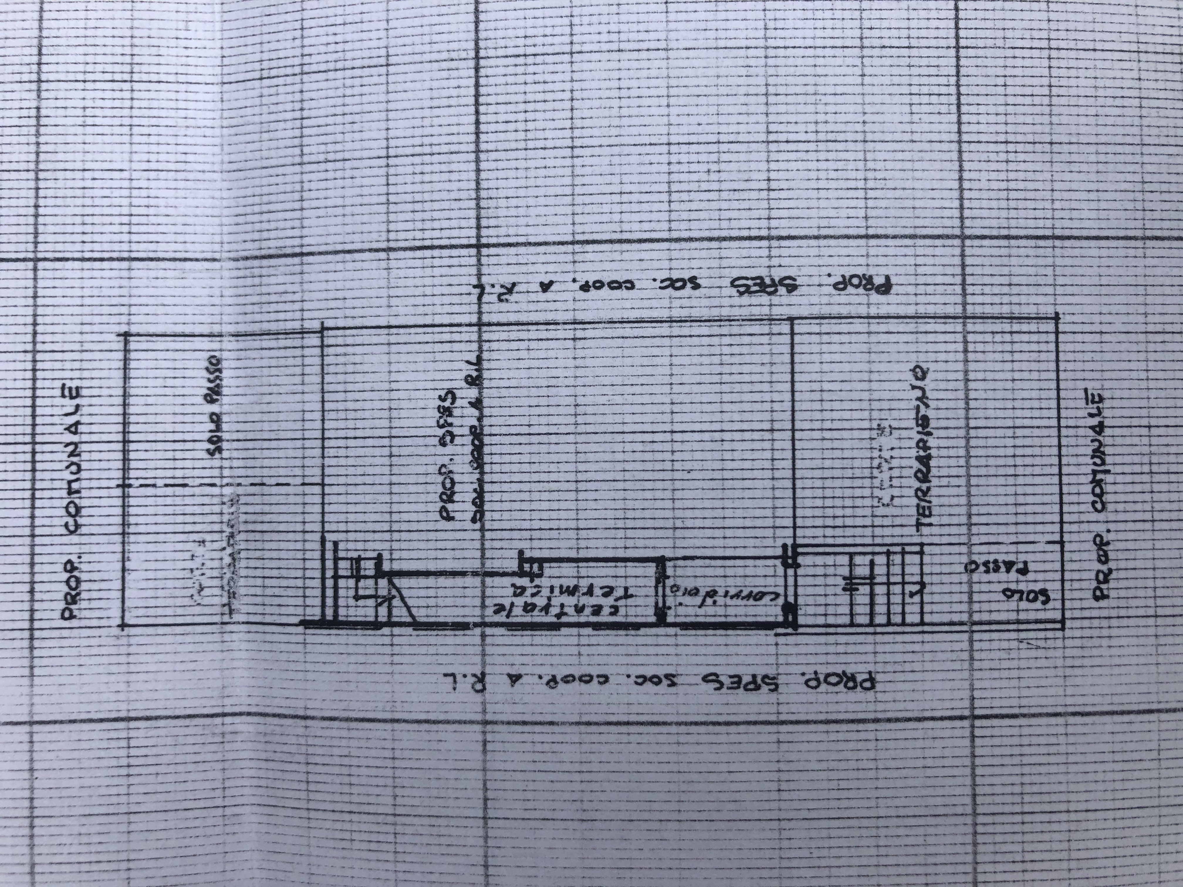 Villetta a schiera in vendita, rif. F/0425 (Planimetria 2/4)