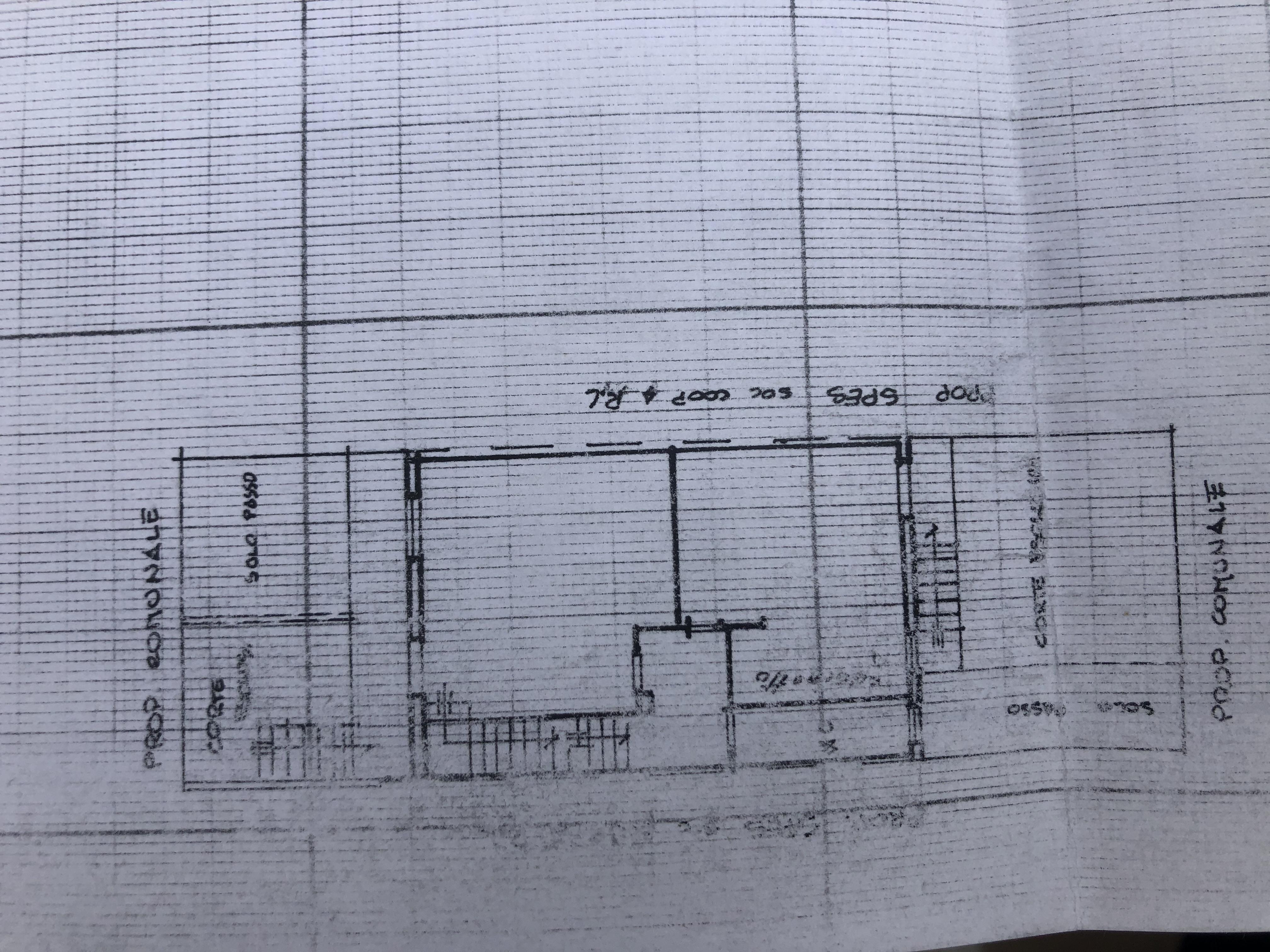 Villetta a schiera in vendita, rif. F/0425 (Planimetria 1/4)