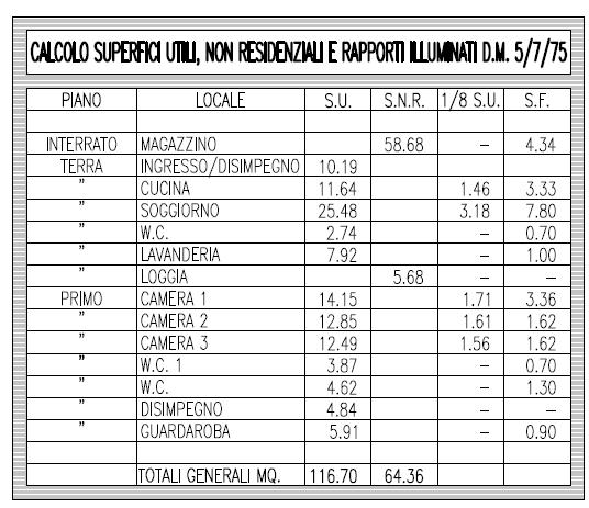 Fienile in vendita, rif. F/0427 (Planimetria 10/10)