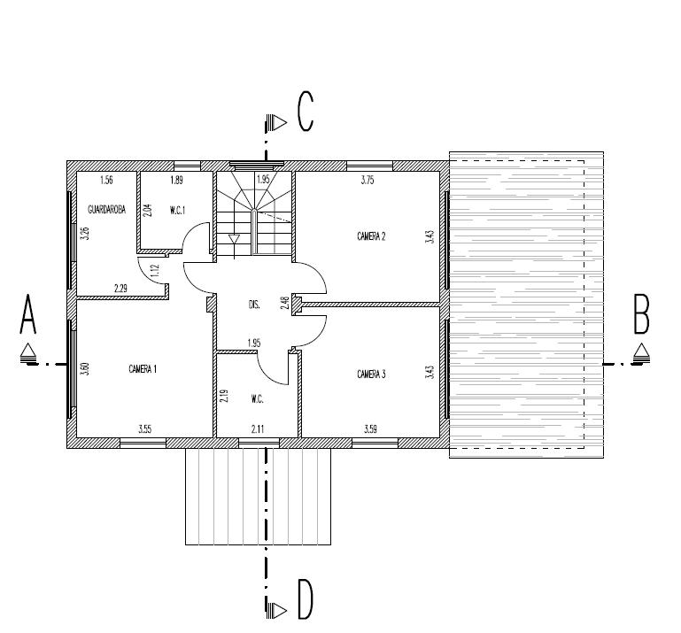 Fienile in vendita, rif. F/0427 (Planimetria 2/10)