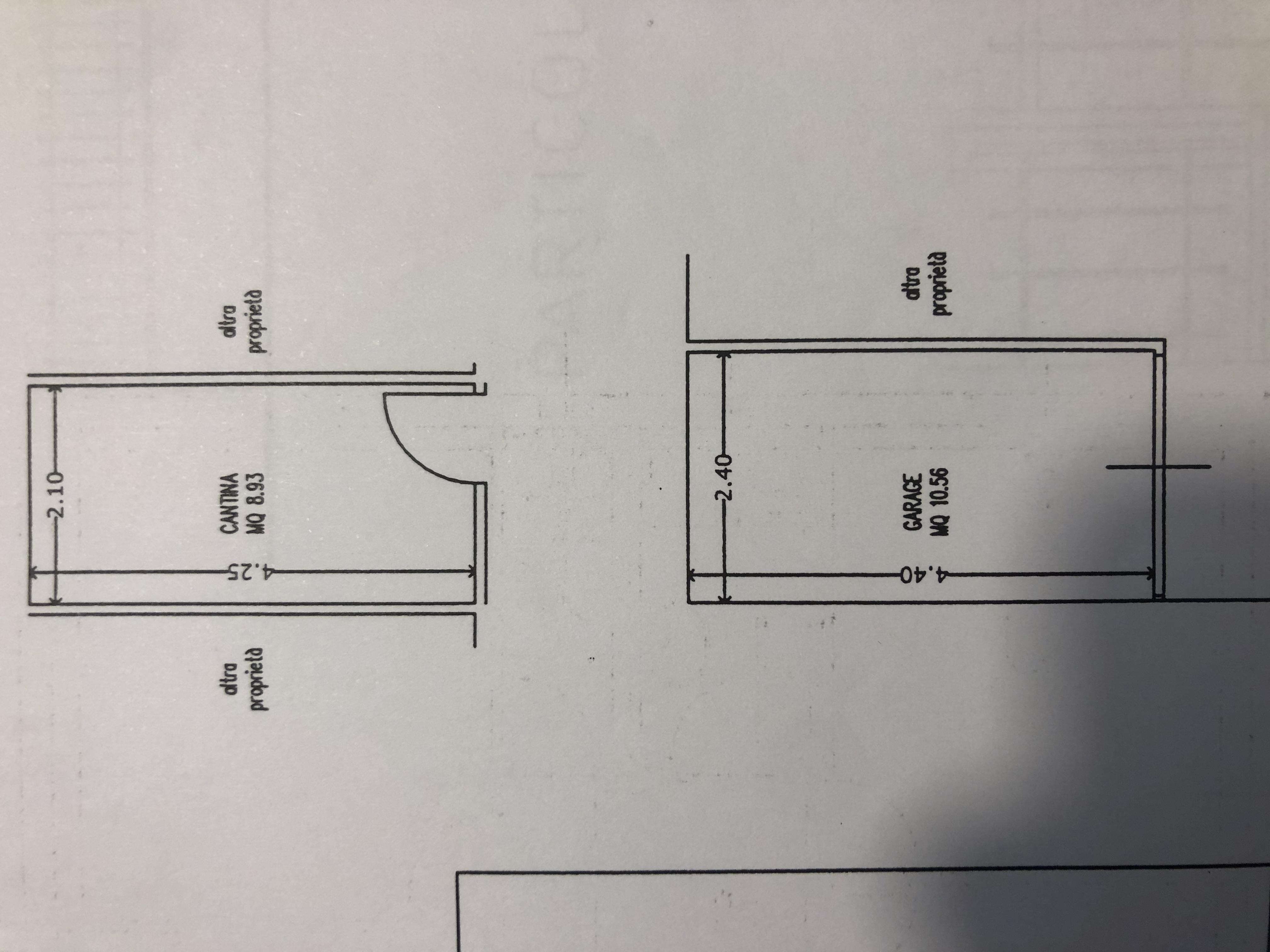 Appartamento in vendita, rif. F/0429 (Planimetria 2/2)