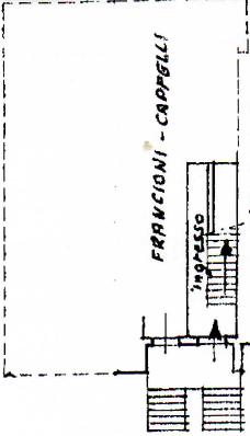 Casa semindipendente in vendita, rif. F/0440 (Planimetria 2/3)