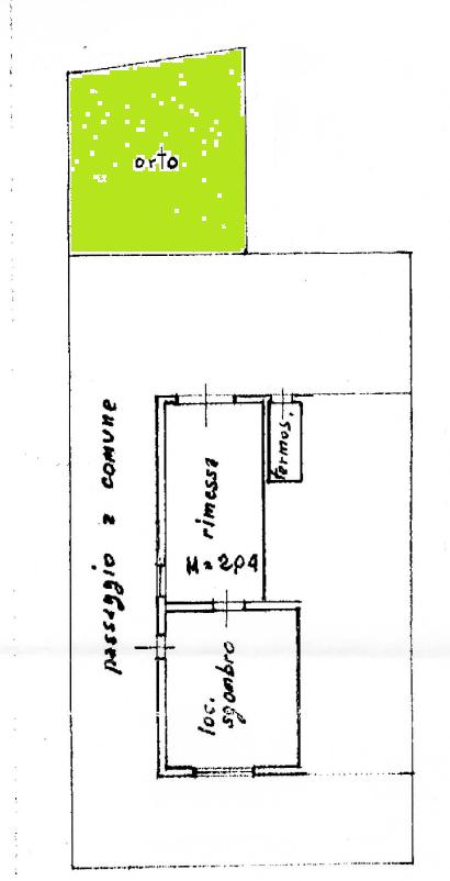 Casa semindipendente in vendita, rif. F/0440 (Planimetria 3/3)