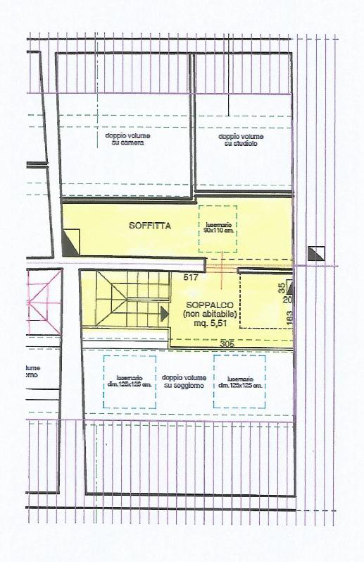 Appartamento in vendita, rif. F/0442 (Planimetria 2/2)