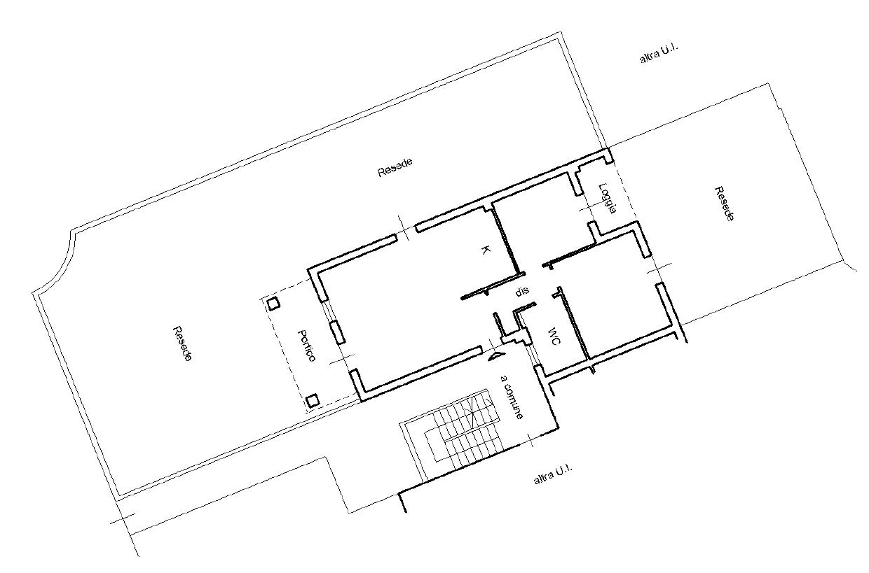 Planimetria 1/2 per rif. F/0444