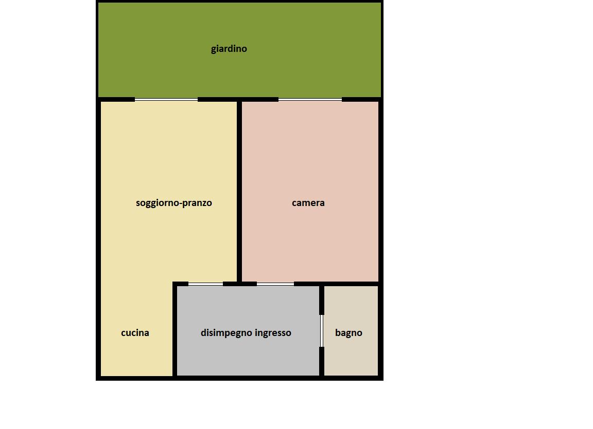 Planimetria 1/1 per rif. F/0451