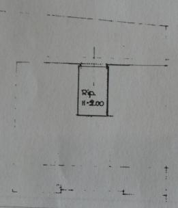 Appartamento in vendita, rif. P/0189 (Planimetria 3/3)