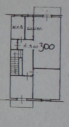 Appartamento in vendita, rif. P/0189 (Planimetria 1/3)