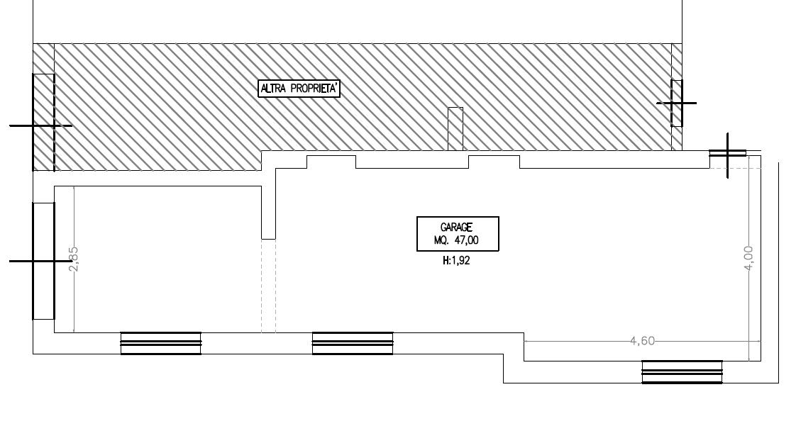 Appartamento in vendita, rif. M/0335 (Planimetria 2/2)