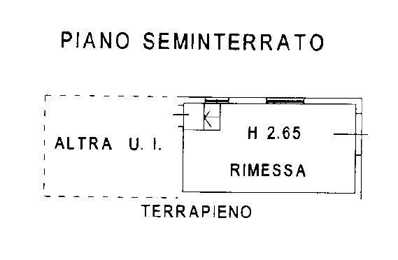 Fienile in vendita, rif. F/0454 (Planimetria 2/4)
