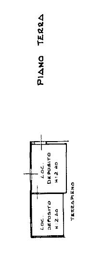 Fienile in vendita, rif. F/0454 (Planimetria 3/4)
