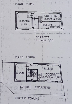Terratetto in vendita, rif. F/0455 (Planimetria 1/1)