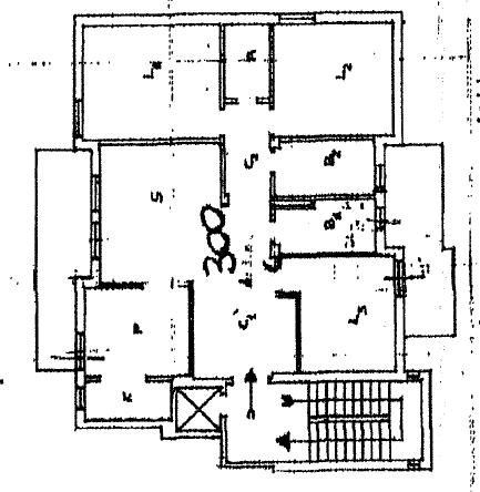 Appartamento in vendita, rif. P/0191 (Planimetria 1/2)