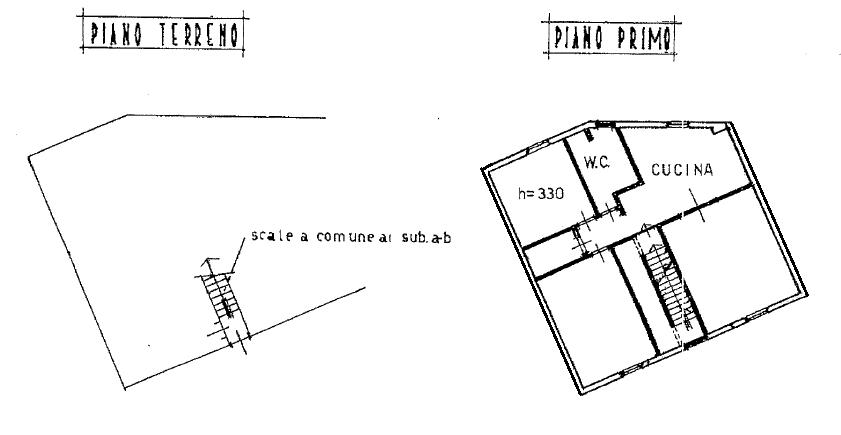 Appartamento in vendita, rif. F/0461 (Planimetria 1/1)