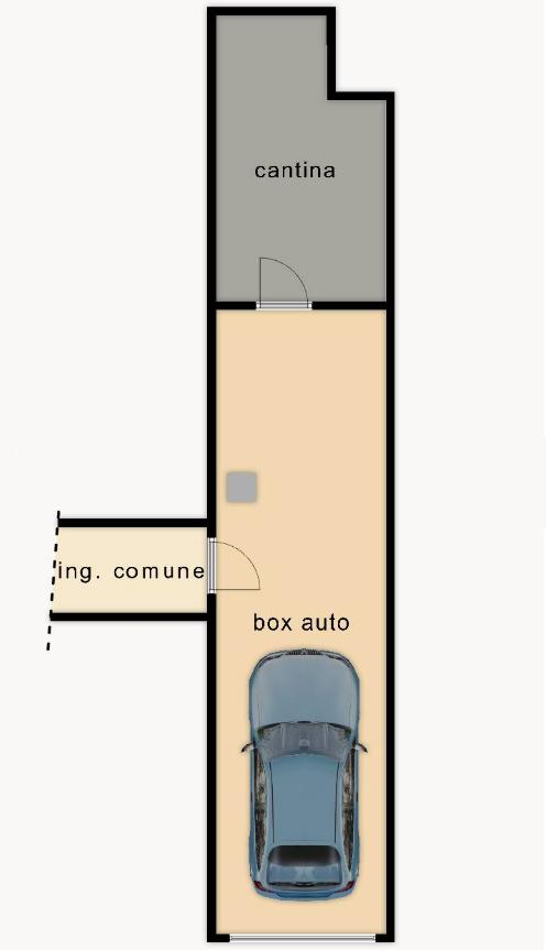 Appartamento in vendita, rif. F/0464 (Planimetria 2/2)