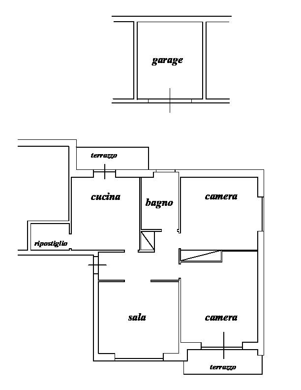Appartamento in vendita, rif. LB15 (Planimetria 1/1)