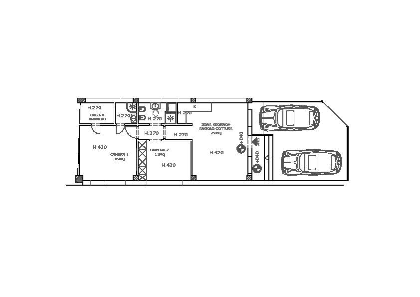 Appartamento in vendita, rif. LB18 (Planimetria 1/1)
