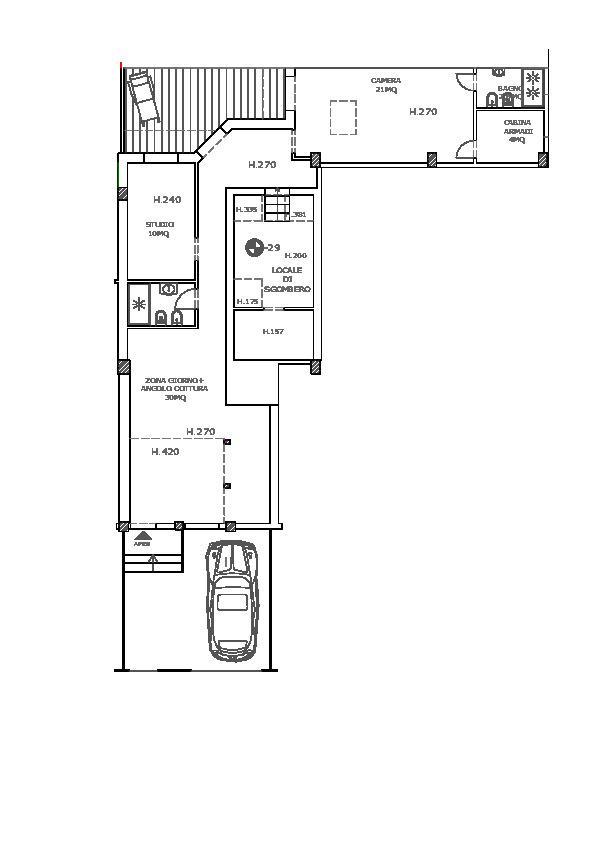 Appartamento in vendita, rif. LB19 (Planimetria 1/1)