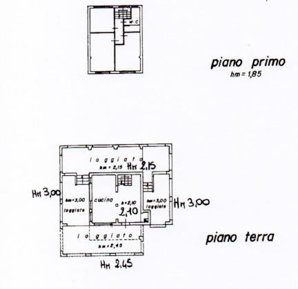 Villa singola in vendita, rif. AB110 (Planimetria 1/1)
