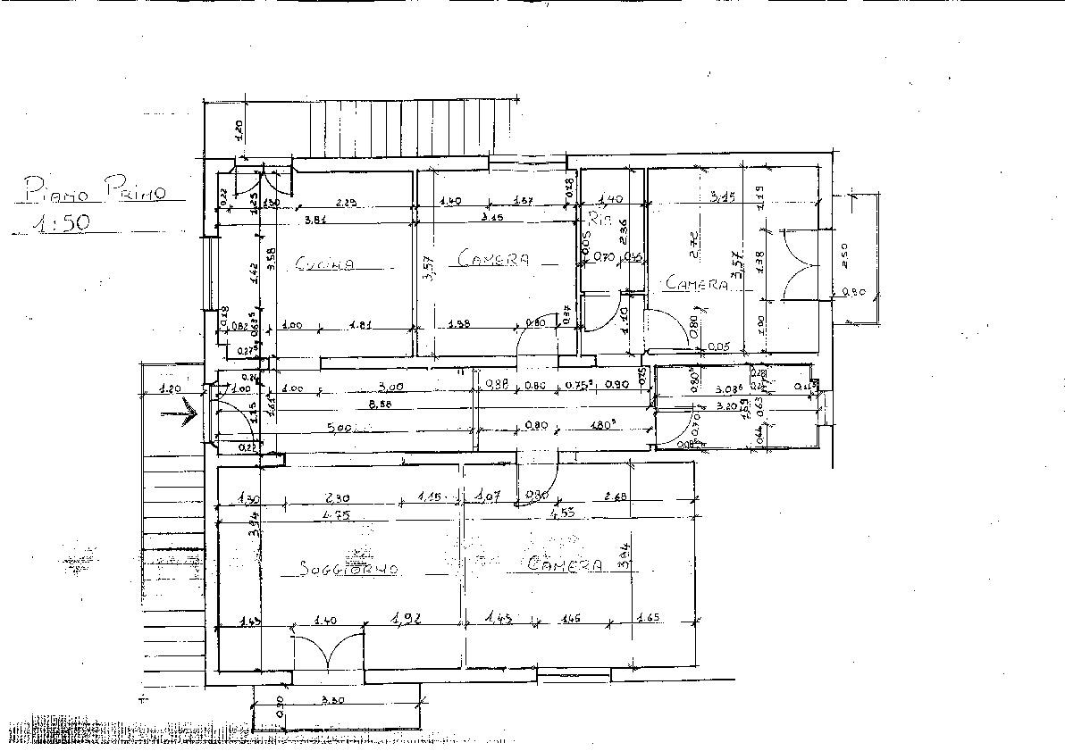 Duplex in vendita, rif. LB55 (Planimetria 2/2)