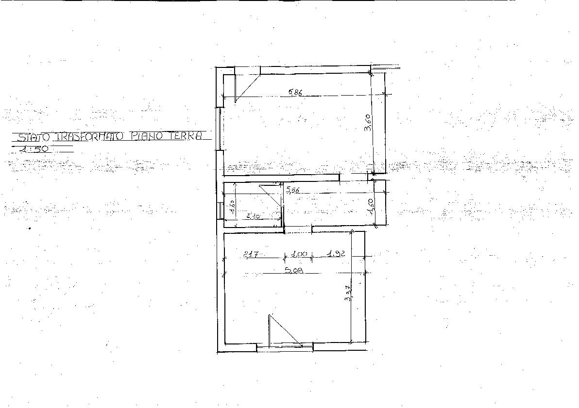 Duplex in vendita, rif. LB55 (Planimetria 1/2)
